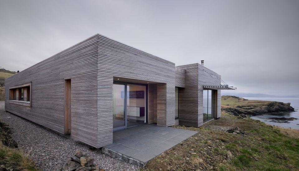 Modern Architecture Journals siberian larch cladding | garage finish | pinterest | larch