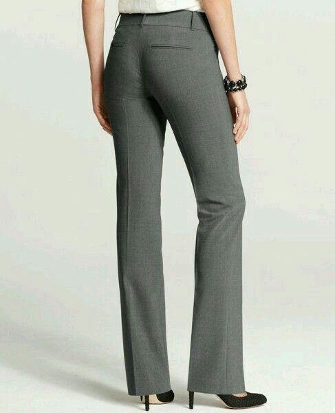 74d6b9601 Pantalón de vestir gris