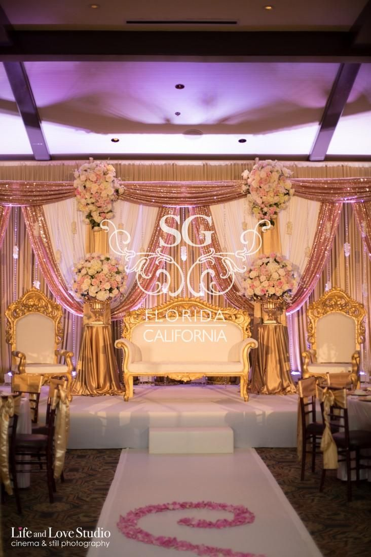 Suhaag garden weddings florida indian wedding decorator california suhaag garden weddings florida indian wedding decorator california indian wedding decorator san fransisco indian weddings champagne gold blush pink junglespirit Image collections