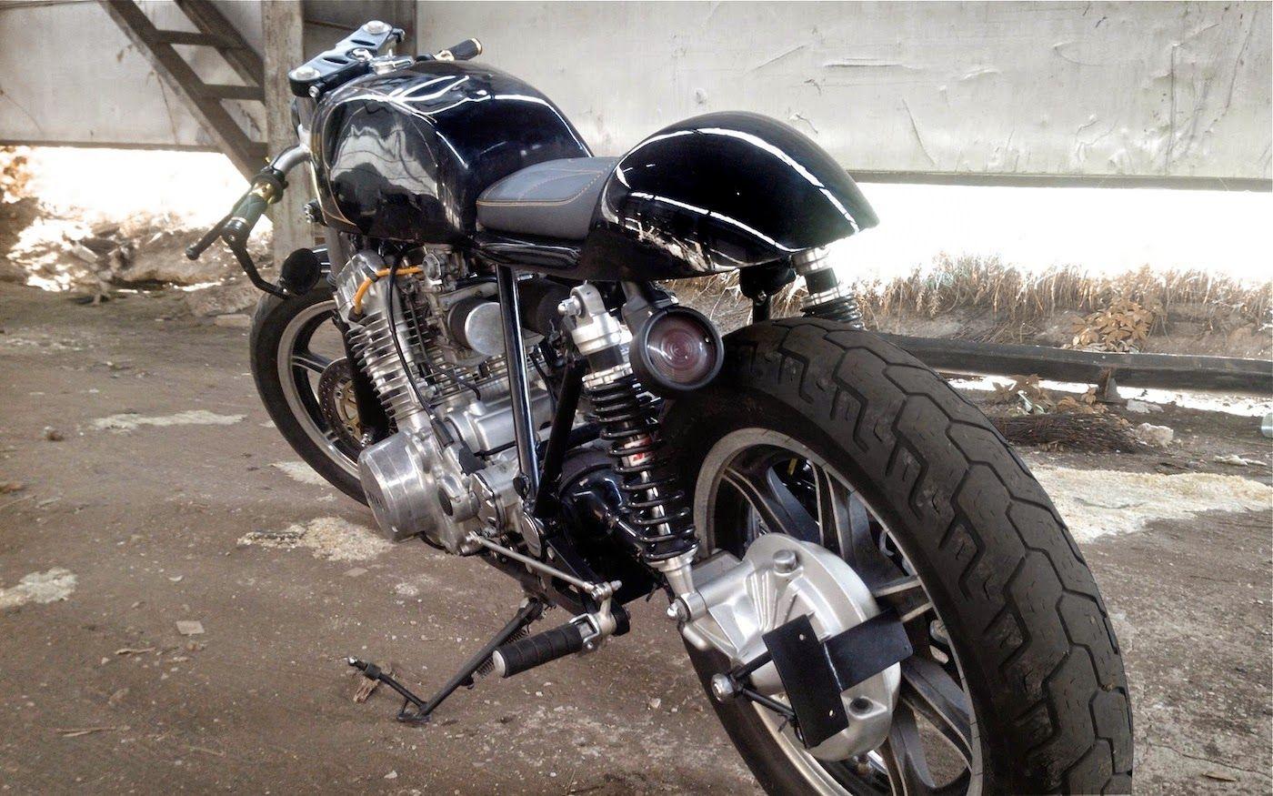Yamaha XV750 Virago Cafe Racer - Simon | 99garage | Cafe Racers Customs Passion Inspirat