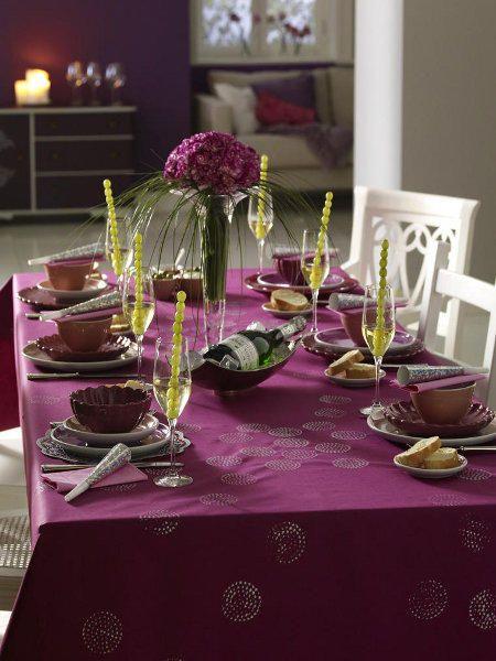 Stimmungsvolle Tischdeko für Silvester Nye - silvester deko selber machen