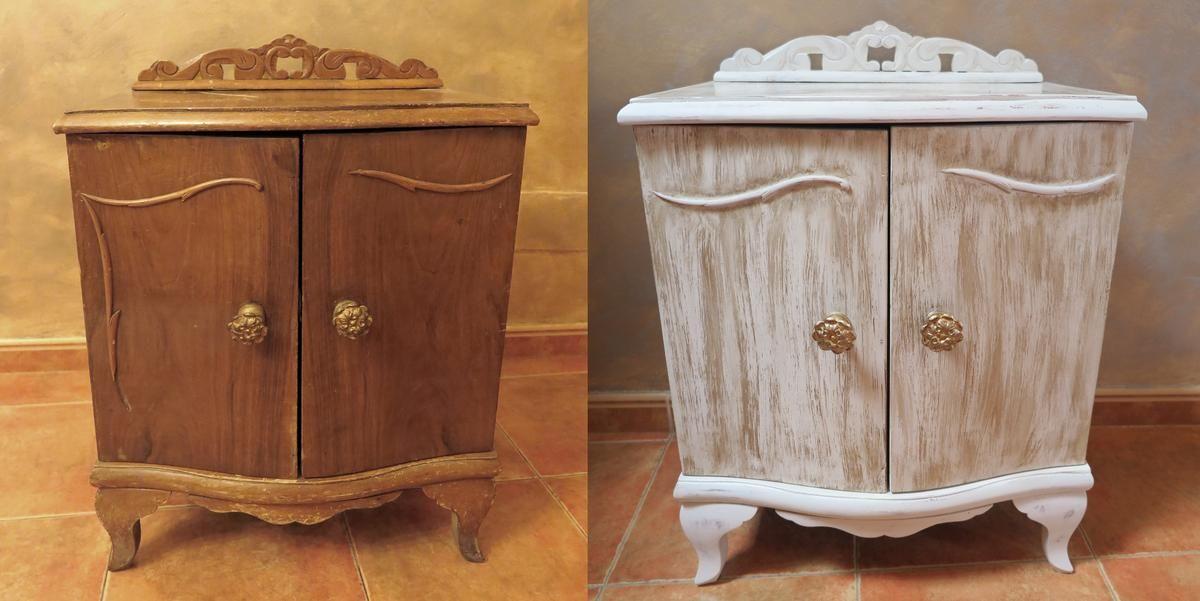 Dale un toque vintage a tus viejos muebles decoracion for Muebles antiguos vintage