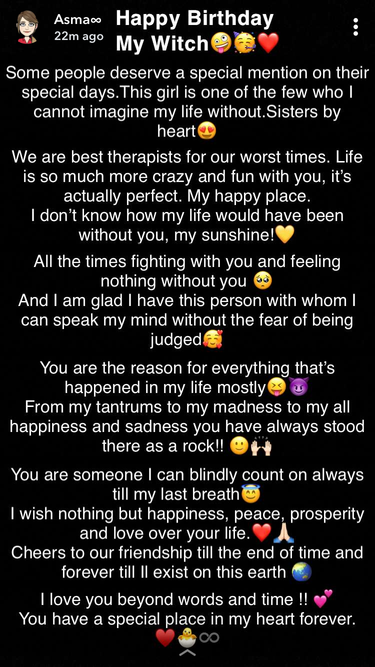Happiest Birthday To One Of The Purest Soul I Know Zainab Tanveerr Happy Birthday Best Friend Quotes Birthday Wishes Quotes Happy Birthday Wishes Quotes