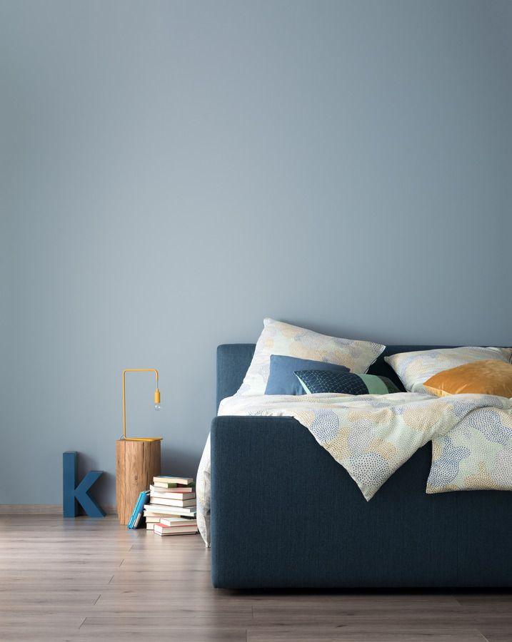Entspanntes Nordischblau Schoner Wohnen Farbe In 2020 Mit Bildern Schoner Wohnen Wandfarbe