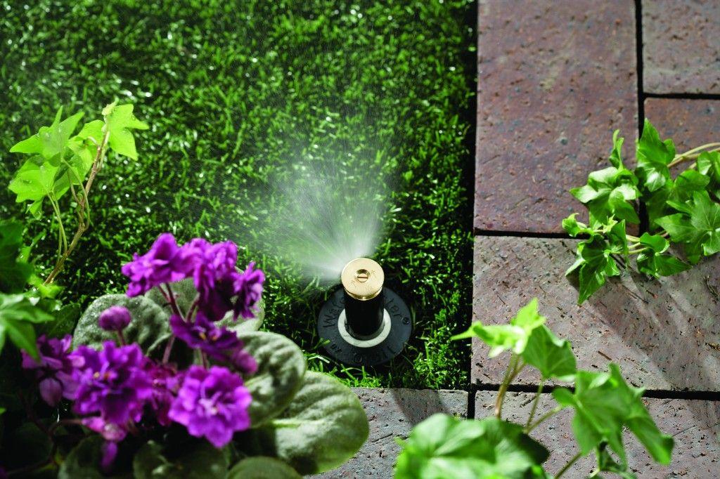 How to Layout an Underground Irrigation System Sprinkler