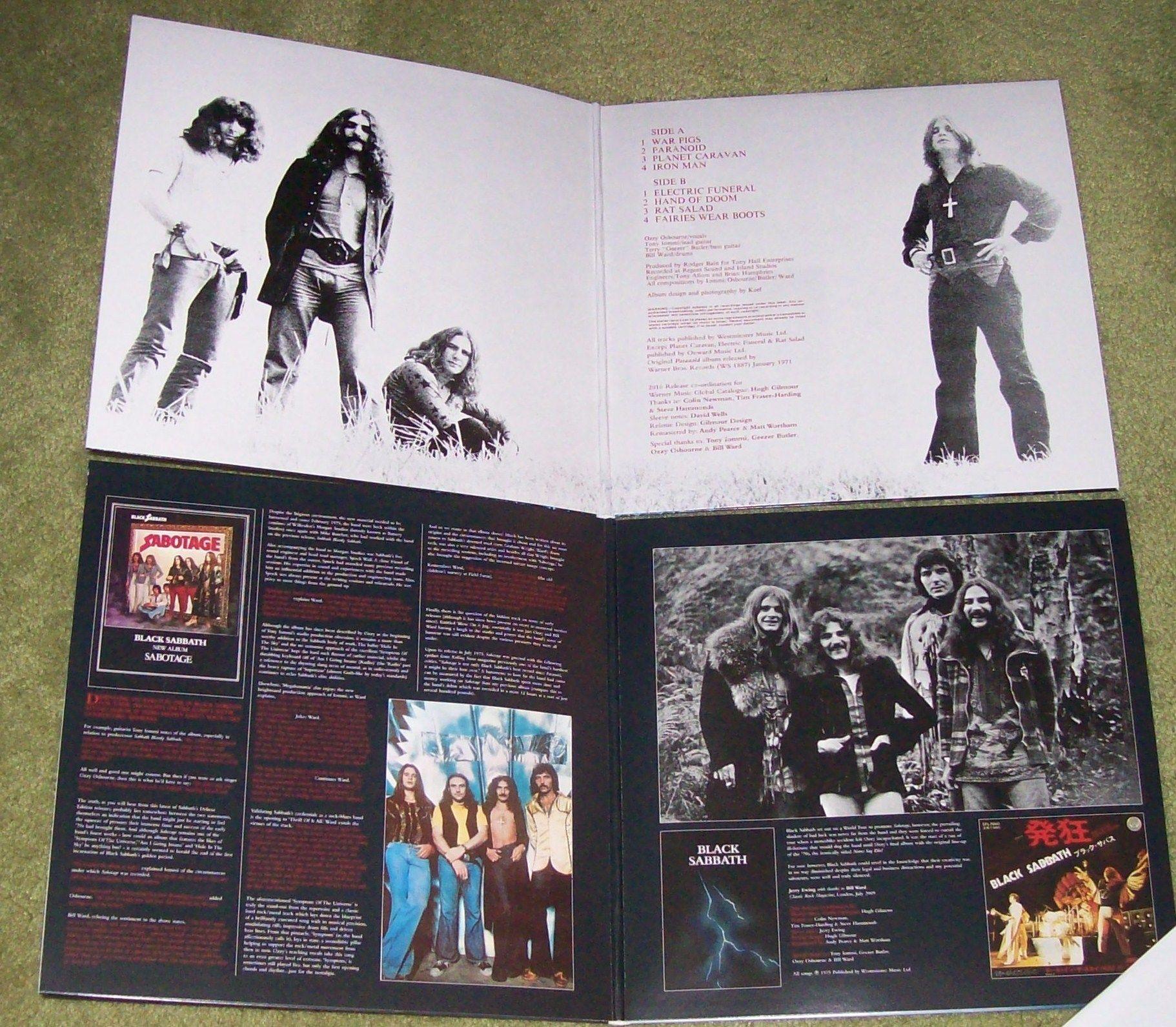 Black Sabbath Re Issue Gatefolds Black Sabbath Vinyl Records Vinyl
