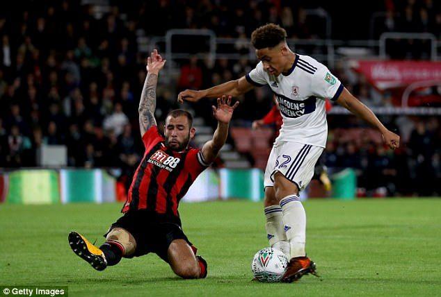 Bournemouth 3 1 Middlesbrough Callum Wilson Stars On Return Middlesbrough Vitality Stadium Sports