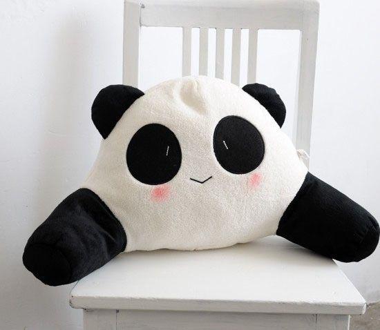 熊猫系列 可爱卡通 腰枕 靠垫 抱枕 0.35kg