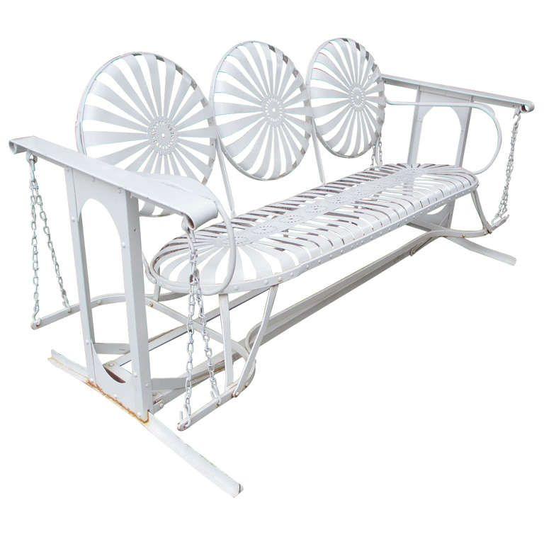 Super 1Stdibs American 1950S Metal Glider Perfect For Your Creativecarmelina Interior Chair Design Creativecarmelinacom