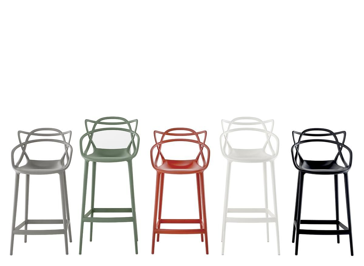Masters Barstool By Philippe Starck Eugeni Quitllet Chaise Bar Kartell Chaise Masters