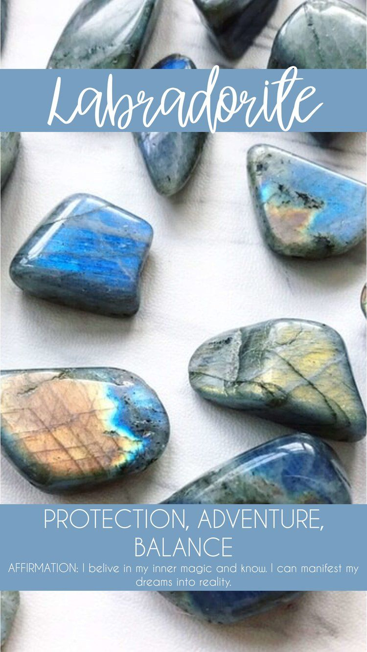 Labradorite Meaning Key Words Protection Adventure Balance A Great Companion For Change Helping You To Crystal Healing Stones Gemstone Meanings Crystals