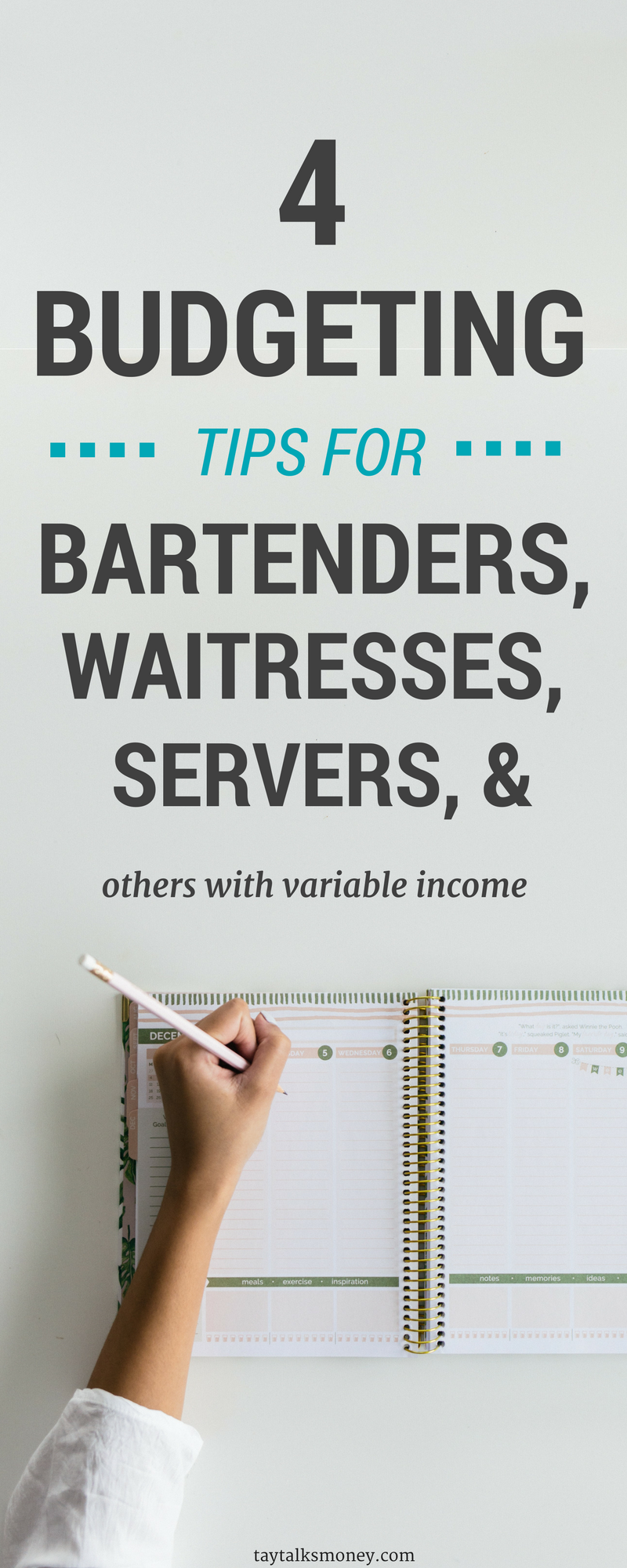Tips For Budgeting With Inconsistent Income For Bartenders Waitresses Servers And More Budgeting Tips Budgeting Budgeting Finances