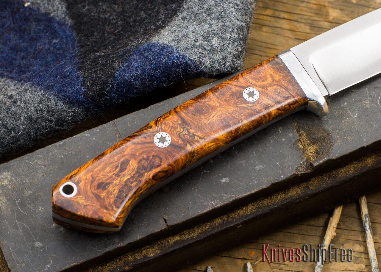 Bark River Knives Classic Drop Point Hunter Desert