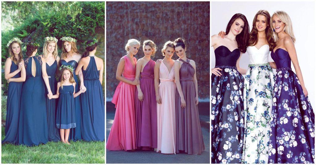 Los mejores colores para los vestidos de tus damas de honor ...