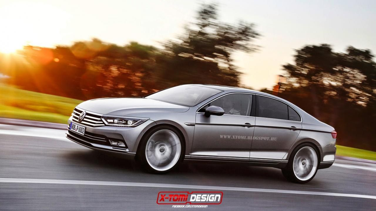 Next-generation Volkswagen Passat CC gets rendered  Volkswagen