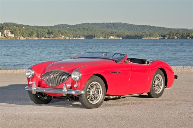 1954 Austin Healey 100 4 Bn1 To Be Auctioned At Motostagia S 2014