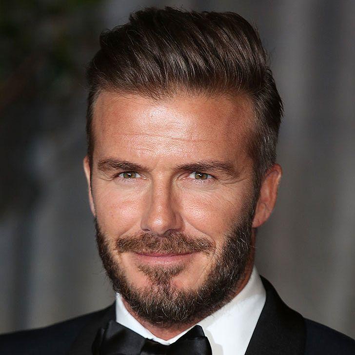 David Beckham Hot Guys With Beards Or Stubble Pinterest - Beckham hairstyle name