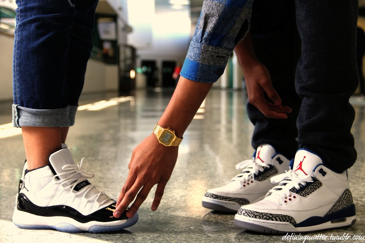 6b48e98e5e6b Couple in Jordan be like..... From  tumblr swag couples jordans