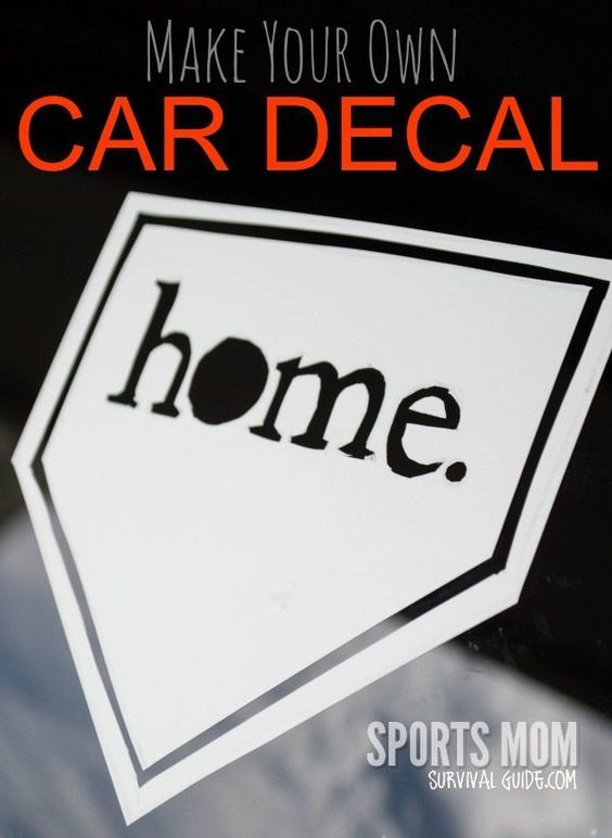 Make Your Own Car Decals Biler Og Tilpassede Biler - How to make your own car decals at home