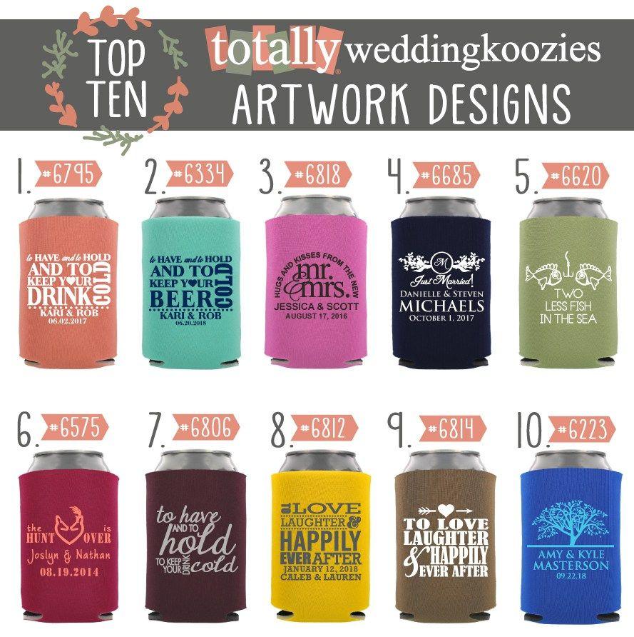 Wedding Koozie® Ideas - 10 red-hot wedding koozies®! Totally ...