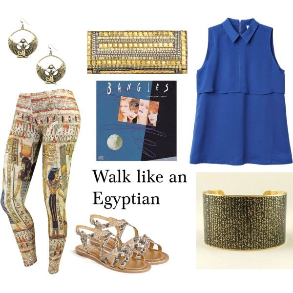 """Walk like an Egyptian"" by pet387 on Polyvore"