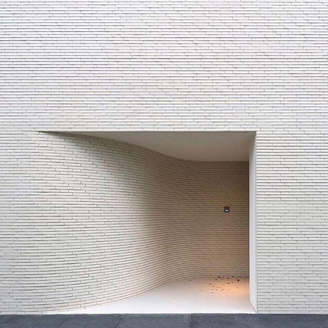 "M O D U  Studio on Instagram: ""A super smooth entry by @mvrdv 📷: @ossipvanduivenbode via @morpholio #architecturephotography #facade #modernarchitecture"""
