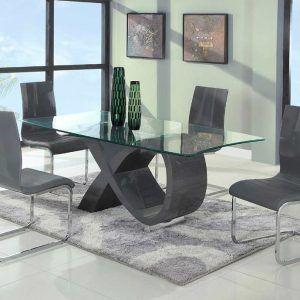 Modern Glass Top Kitchen Table  Httpnilgostar  Pinterest Adorable Contemporary Kitchen Tables Design Inspiration