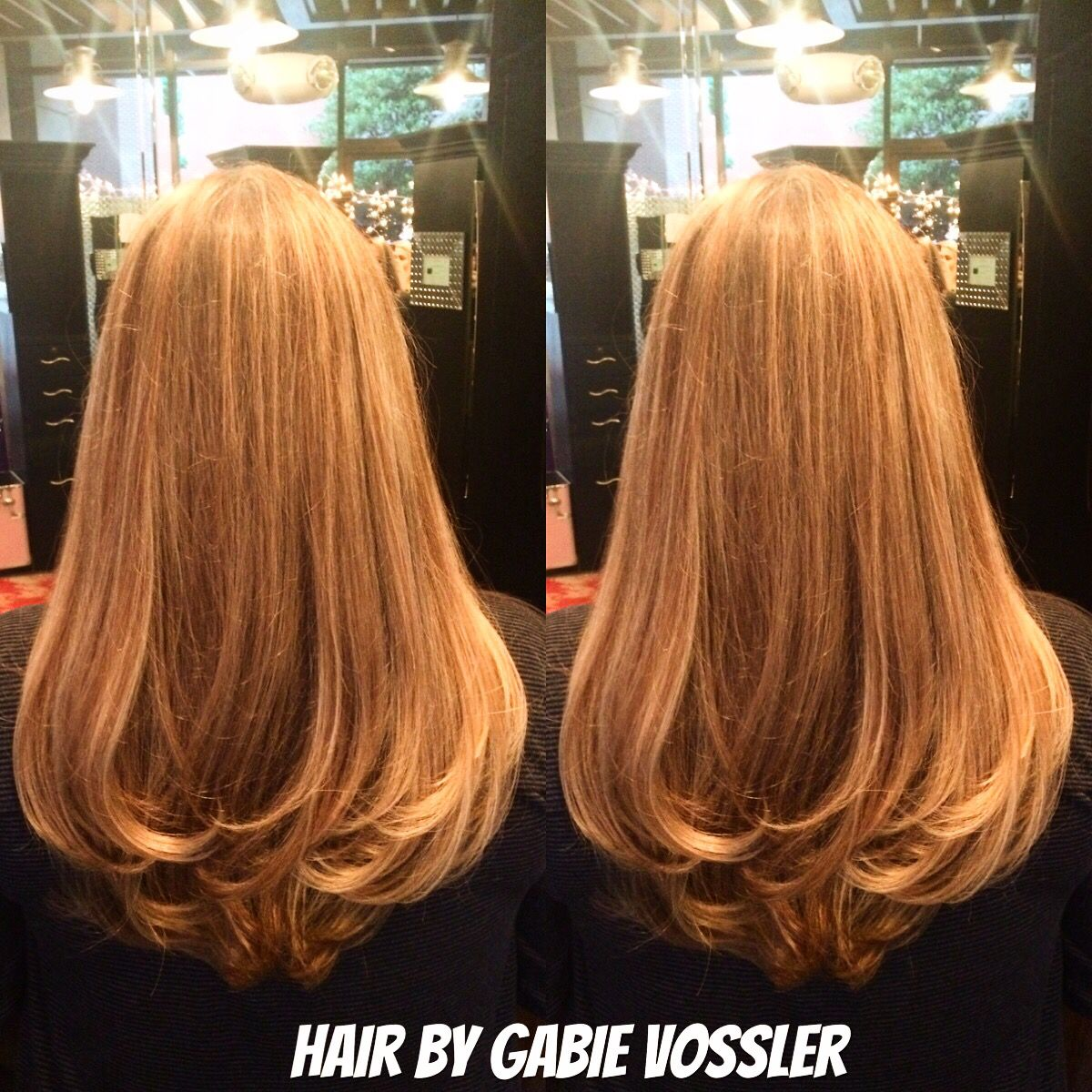Hair By Gabie Vossler At Glass Door Salon And Spa
