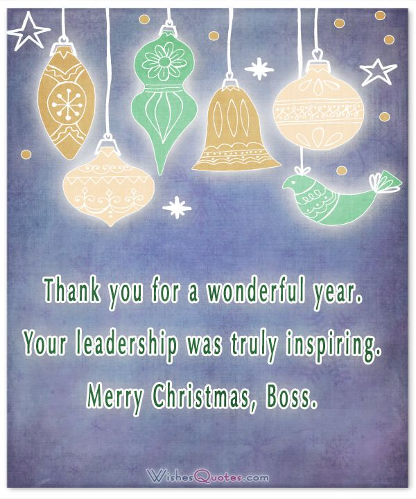 Christmas thank you message to boss driveeapusedmotorhomefo 20 christmas messages to share the spirit of christmas with your boss m4hsunfo