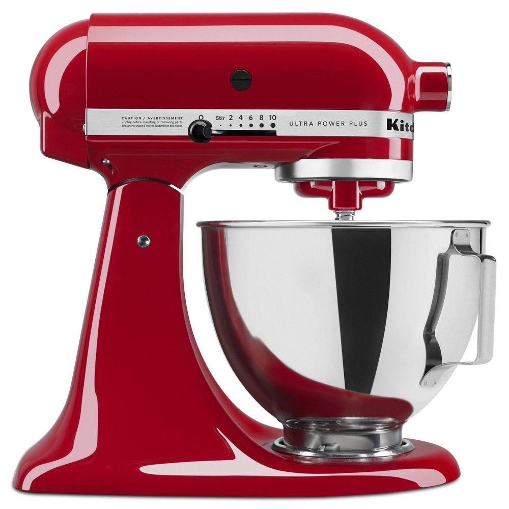 Kitchenaid Ultra Power Plus 4 5qt Tilt Head Stand Mixer Red