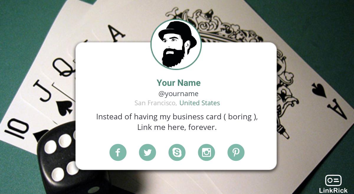Linkrick E Visiting Card Designs Digital Business Card Visiting Card Design Visiting Cards