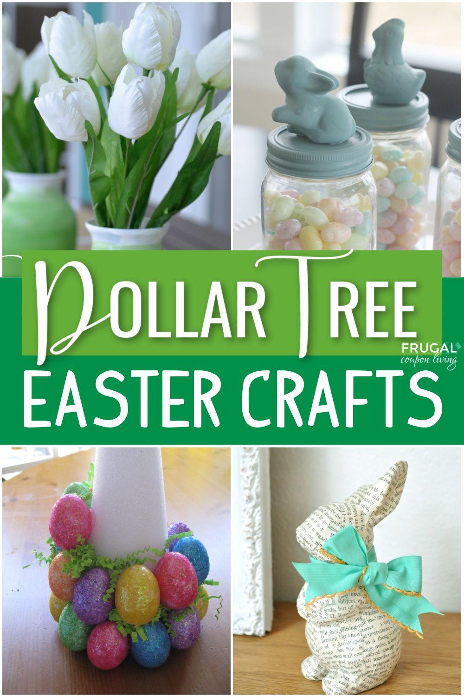 Dollar Store Easter Decor In 2021 Dollar Tree Easter Crafts Easter Crafts Diy Easter Crafts Dollar Store