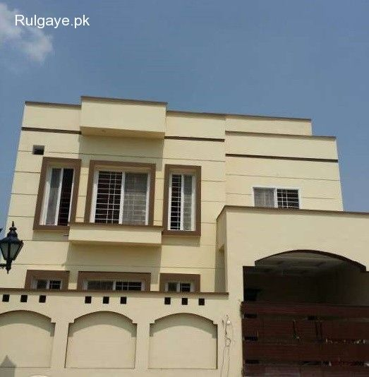 Double story house for sale in Kohistan Enclave Wah Cantt
