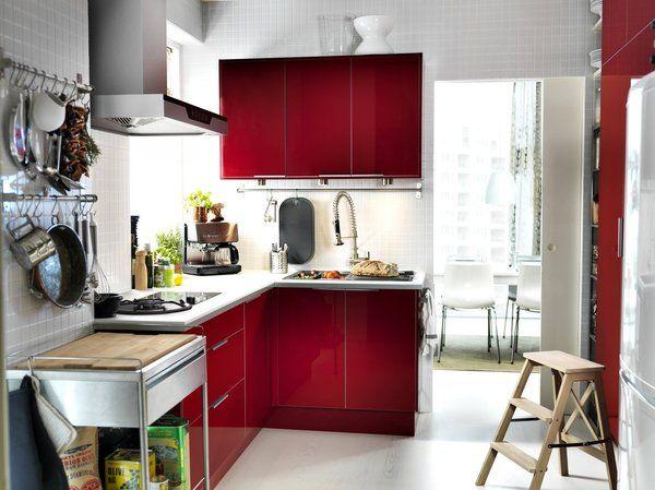 31+ Ikea cuisine rouge brillant ideas in 2021