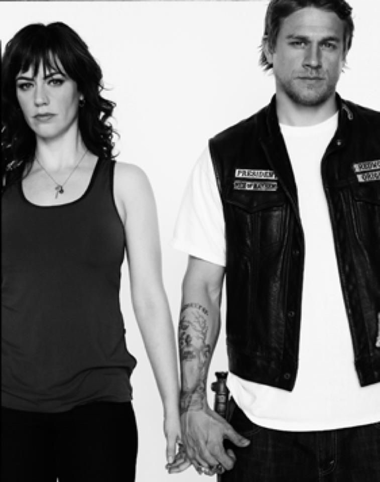 Tara and Jax....new queen and king of SAMCRO. | Sons of ...