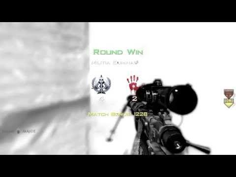 Friend got a hilarious game winning kill in MW2