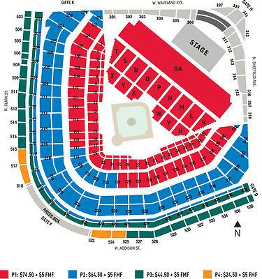 Tickets Green Day Tickets Wrigley Field Chicago Thursday 8 24 17 Ga Field Pit Tickets Wrigley Field Chicago Wrigley Field Billy Joel