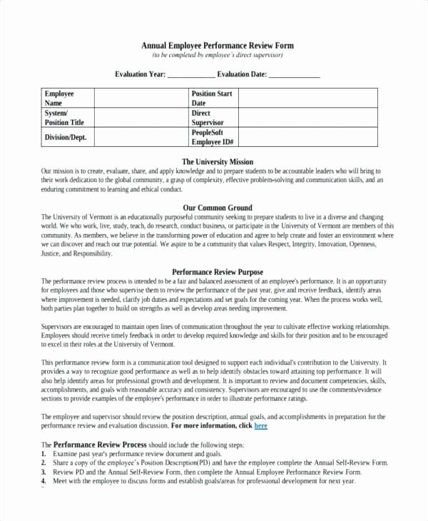 quarterly performance review template beautiful annual