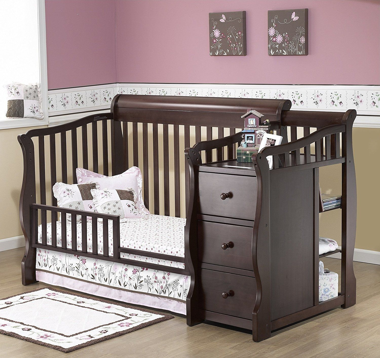 Crib With Attached Changing Table And Drawers | http://ezserver.us ...