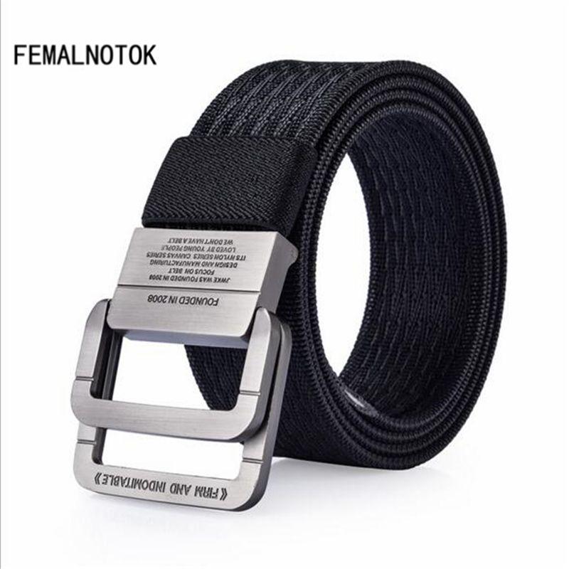 Brand men belts high quality designer tactical belt outdoor casual canvas belts fashion Military Equipment Strap for men