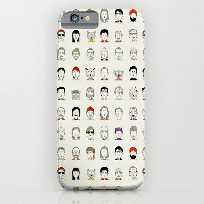 The Characters Of Wes Anderson- For iPhone 6 Case