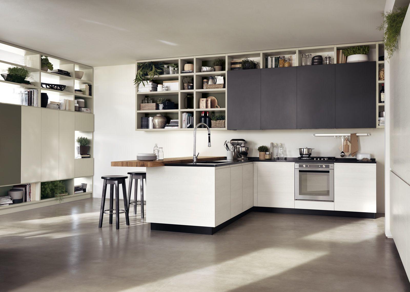 Cucina: contenere di più con tanti pensili o pensili grandi | House