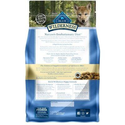Blue Buffalo Wilderness 100 Grain Free Chicken Puppy Dry Dog Food