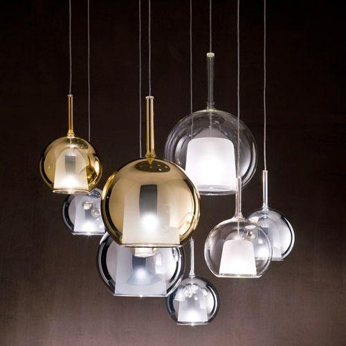 Lampada a sospensione glo design colombo penta lampade di design penta classicdesign it - Lampadari di design sospensione ...