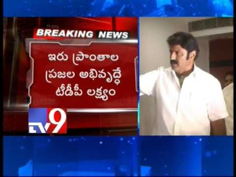 TDP does not need Jr NTR - Balakrishna