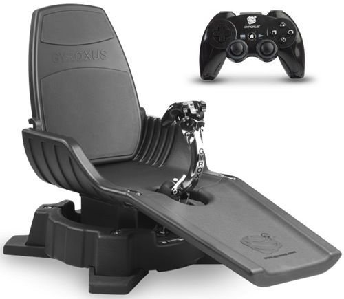 X Dream Gyroxus Ps3 Gaming Chair Enables Lift Off At Home Gaming