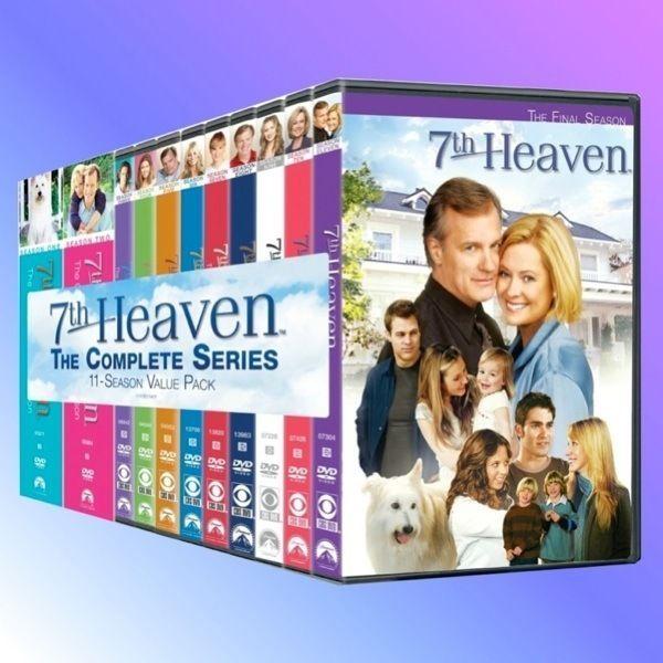 7th Heaven Complete Season Series 1 2 3 4 5 6 7 8 9 10 11 New