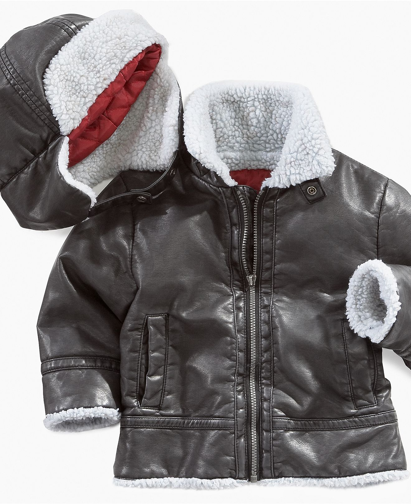 Guess Baby Set Baby Boys Bomber Jacket and Hat Kids Macy s