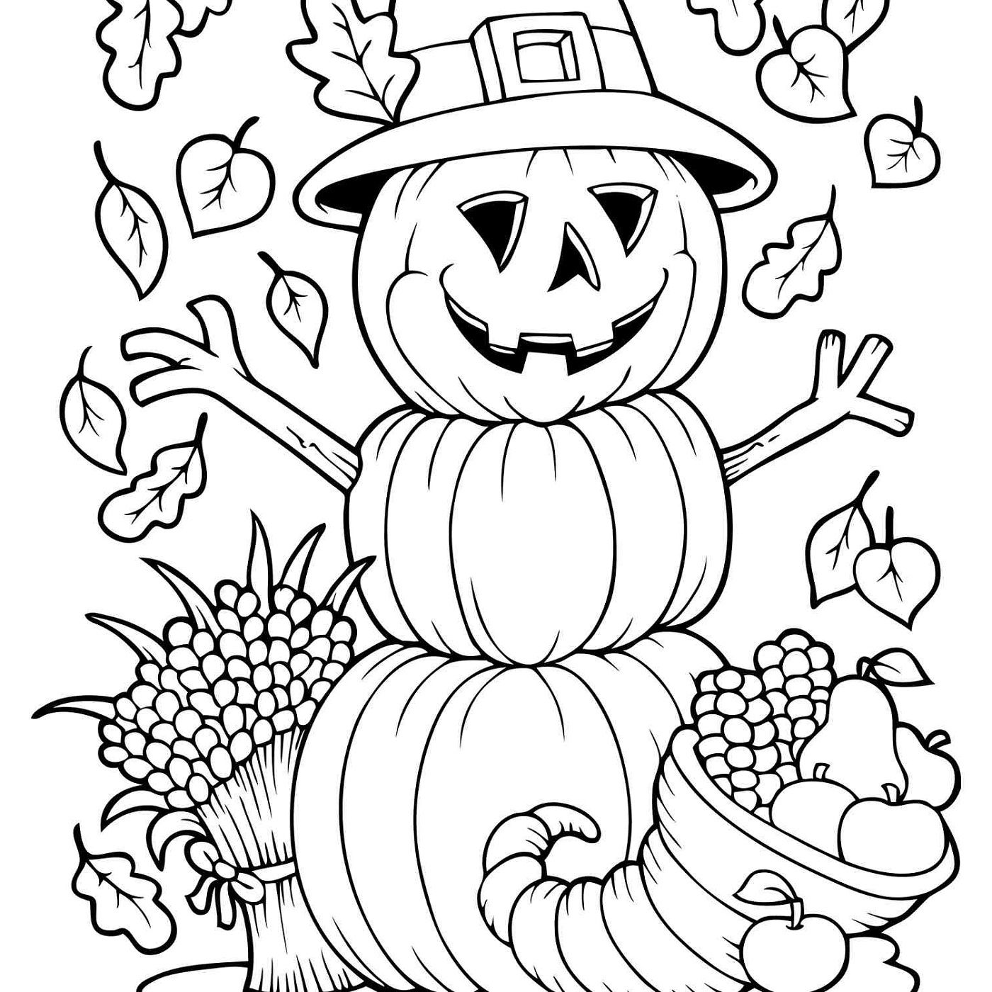 Printable Autumn And Fall Coloring Pages Fall Coloring Sheets Fall Coloring Pages Coloring Pages