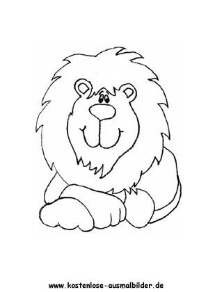 Ausmalbild Lowe Zum Ausdrucken Ausmalbild Lowe Lowe Zeichnen Ausmalen